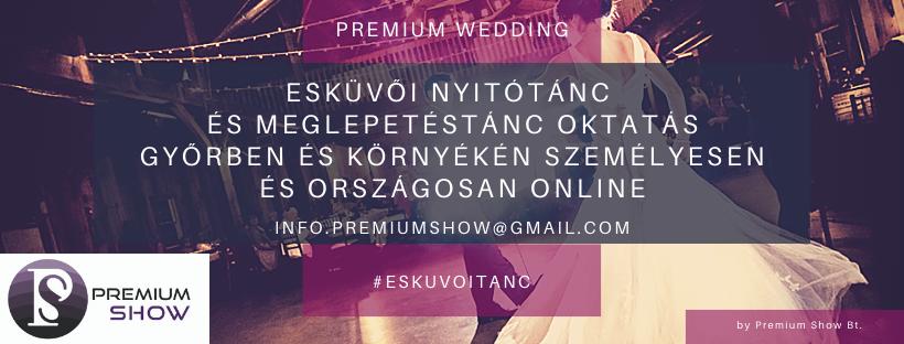 Esküvői táncoktatás, nyitótánc koreográfia Győrben profi tanárokkal. Keress minket még ma!